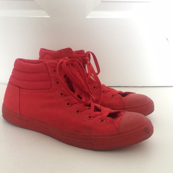 Converse All Star- All Red Canvas & Rubber Shoes